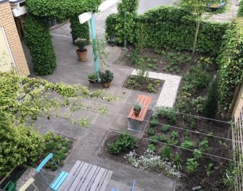 Nieuwe klimaatbestendige tuin