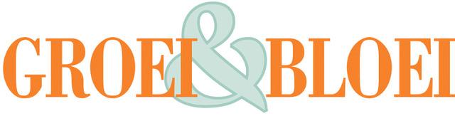 logo groei en bloei