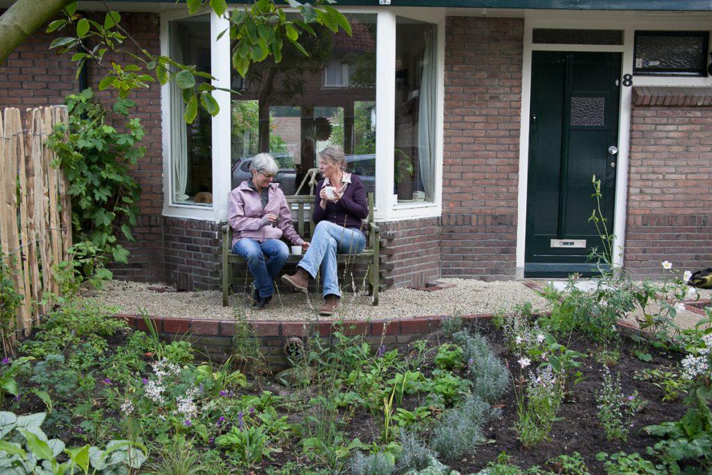 Parkeren In Voortuin : Klimaatvriendelijke voorbeeldtuin breitnerstraat lekker in je tuin